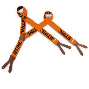 stihl-hosentraeger-orange-mit-lederschlaufen