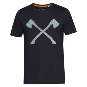 stihl-t-shirt-axe-schwarz